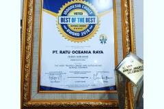 Indonesia Choice Award 2018 Best Of The Best The Most Trusted Cruise and Outsourcing Service Company